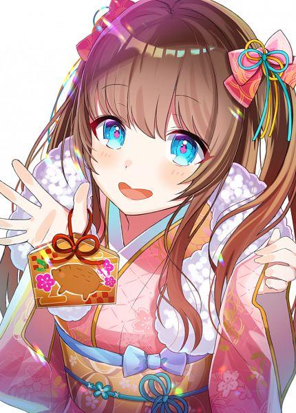 Tags: Anime, Pixiv Id 11947865, Kakyoin Chieri (Channel), .LIVE, Kakyoin Chieri, Happy 2019