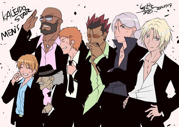 Tags: Anime, GONZO (Studio), Kaleido Star, Ken Robbins, Mr. Kenneth, Leon Oswald, Jean Benigni, Kalos Eido, Yuri Killian, Jerry (Kaleido Star), Sinozaki