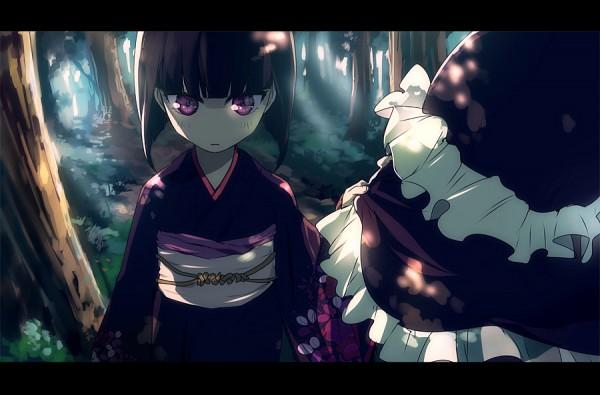 Tags: Anime, Nuriko-kun, Hunter x Hunter, Kikyo Zoldyck, Kalluto Zoldyck, Fanart From Pixiv, Fanart, Pixiv