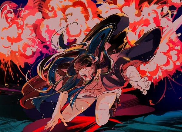 Tags: Anime, Asako (Itiba), Kimetsu no Yaiba, Kamado Nezuko, Pixiv, Fanart, Fanart From Pixiv