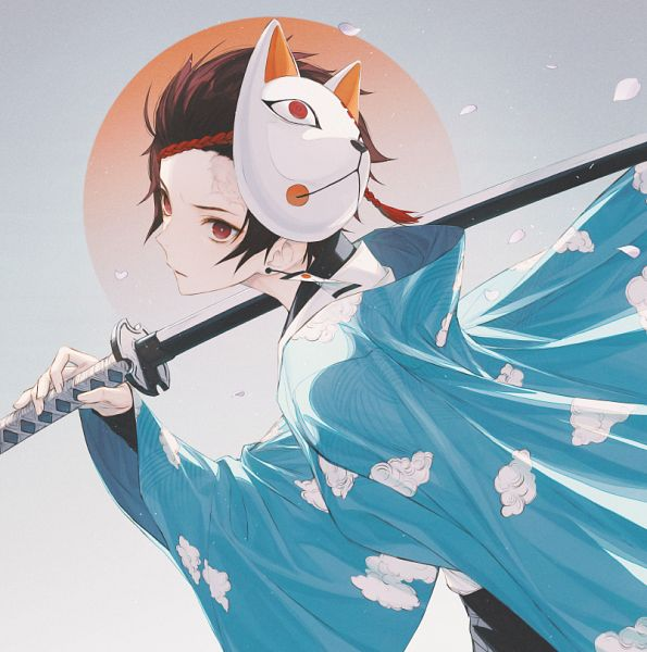 Tags: Anime, ₩ANKE, Kimetsu no Yaiba, Kamado Tanjirou, Fanart, Fanart From Pixiv, Pixiv