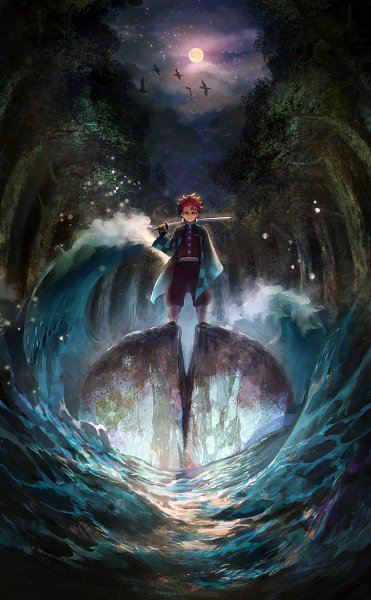 Tags: Anime, Pixiv Id 3879166, Kimetsu no Yaiba, Kamado Tanjirou, Pixiv