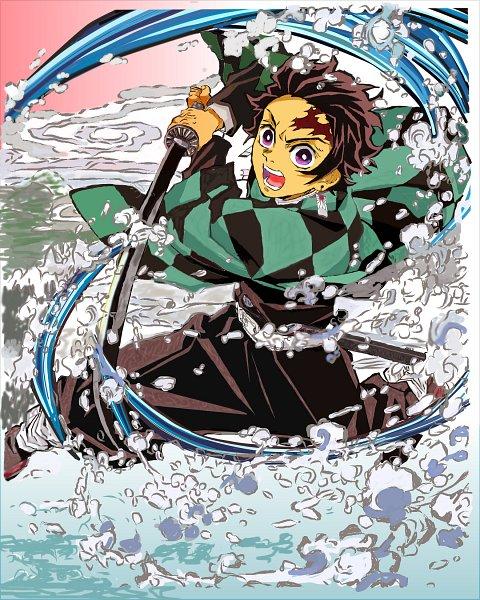 Tags: Anime, Pixiv Id 45067121, Kimetsu no Yaiba, Kamado Tanjirou, Fanart From Pixiv, Pixiv, Fanart