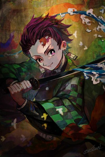Tags: Anime, Pixiv Id 3879166, Kimetsu no Yaiba, Kamado Tanjirou
