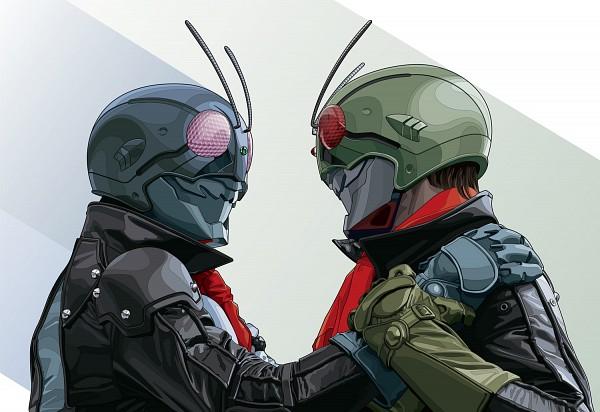 Tags: Anime, Pixiv Id 1837557, Kamen Rider, Kamen Rider Series, Kamen Rider Nigo, Kamen Rider Ichigo, Kamen Riders
