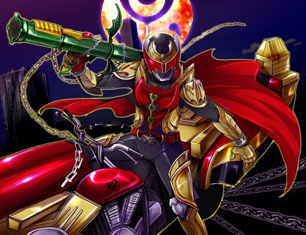 Kamen Rider Kiva (Character) - Kamen Rider Kiva