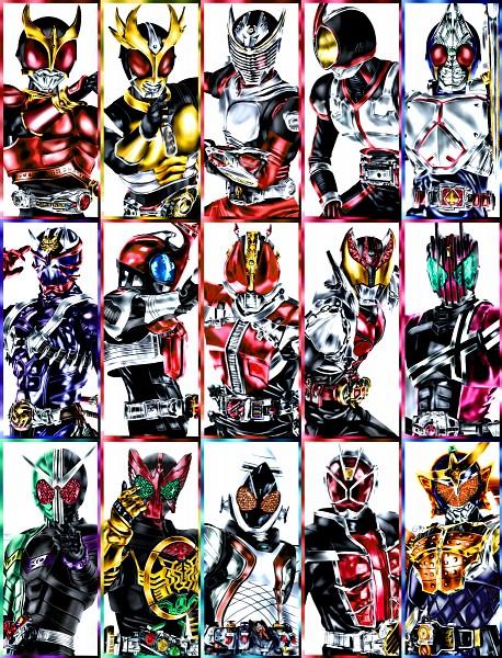 Tags: Anime, Kamen Rider Hibiki, Kamen Rider Kiva, Kamen Rider Kuuga, Kamen Rider Agito, Kamen Rider Blade, Kamen Rider W, Kamen Rider Series, Kamen Rider Decade, Kamen Rider Kabuto, Kamen Rider OOO, Kamen Rider Gaim, Kamen Rider 555