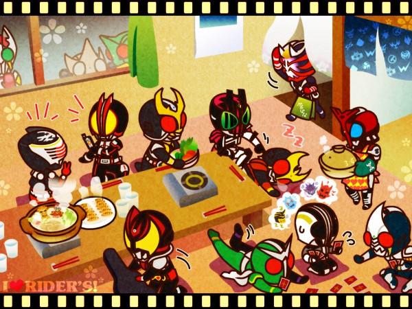 Tags: Anime, Kamen Rider Series, Kamen Rider Ryuki, Kamen Rider Den-O, Kamen Rider W, Kamen Rider Agito, Kamen Rider Hibiki, Kamen Rider Kiva, Kamen Rider Decade, Kamen Rider Blade, Kamen Rider 555, Kamen Rider Kabuto, Kamen Rider Blade (Character)