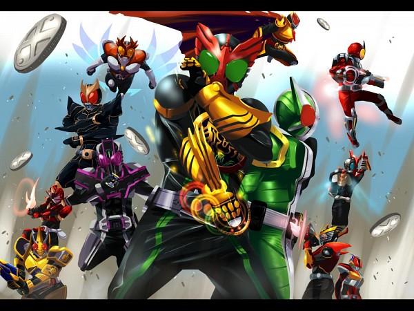Tags: Anime, Pixiv Id 506324, Kamen Rider Decade, Kamen Rider Kabuto, Kamen Rider OOO, Kamen Rider 555, Kamen Rider Ryuki, Kamen Rider Den-O, Kamen Rider Hibiki, Kamen Rider Kuuga, Kamen Rider Kiva, Kamen Rider Blade, Kamen Rider W