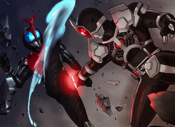 Tags: Anime, Pixiv Id 330803, Kamen Rider Kabuto, Kamen Rider Series, Kamen Rider 555, Kamen Rider Kabuto (Character), Kamen Rider Faiz, Fanart