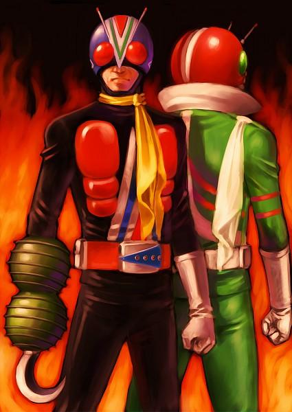 Kamen Rider V3 (仮面ライダーv3 ) - Kamen Rider Series