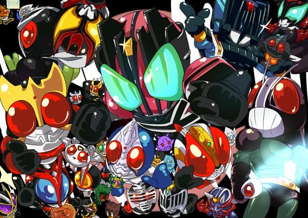 Tags: Anime, Pixiv Id 506324, Kamen Rider Agito, Kamen Rider Series, Kamen Rider Amazon, Kamen Rider Decade, Kamen Rider Kabuto, Kamen Rider Den-O, Kamen Rider 555, Kamen Rider Ryuki, Kamen Rider Kuuga, Kamen Rider Kiva, Kamen Rider Hibiki
