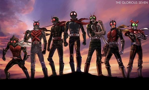 Tags: Anime, Yusao, Kamen Rider Series, Kamen Rider X, Kamen Rider Amazon, Kamen Rider, Kamen Rider Stronger, Kamen Rider V3, Kamen Rider V3 (Character), Kamen Rider Stronger (Character), Kamen Rider Nigo, Kamen Rider Amazon (Character), Riderman