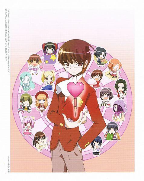 Tags: Anime, Wakaki Tamiki, Kami nomi zo Shiru Sekai, EVERY LOVELY ANGEL, Kosaka Chihiro, Goidou Yui, Ayukawa Tenri, Shiomiya Shiori, Kasuga Kusunoki, Nakagawa Kanon, Uemoto Sumire, Takahara Ayumi, Ikoma Minami, The World God Only Knows