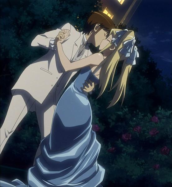 Tags: Anime, Kami nomi zo Shiru Sekai, Aoyama Mio, Katsuragi Keima, Screenshot, The World God Only Knows