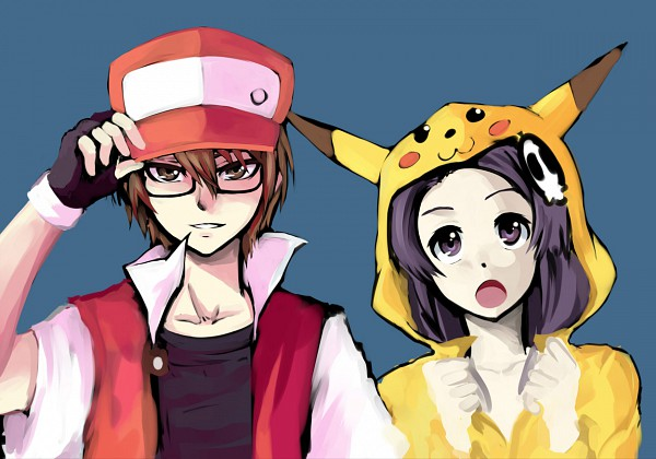 Tags: Anime, Kami nomi zo Shiru Sekai, Katsuragi Keima, Elsea de Lute Irma, Pikachu (Cosplay), Red (Pokémon) (Cosplay), The World God Only Knows