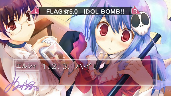 Tags: Anime, Mitsumi Misato, Kami nomi zo Shiru Sekai, Hakua du Lot Herminium, Katsuragi Keima, Kami nomi zo Shiru Sekai - End Cards, Wallpaper, HD Wallpaper, End Cards, The World God Only Knows