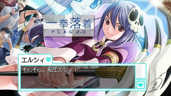 Tags: Anime, Mino Taro, Kami nomi zo Shiru Sekai, Hakua du Lot Herminium, HD Wallpaper, End Cards, Wallpaper, Kami nomi zo Shiru Sekai - End Cards, The World God Only Knows