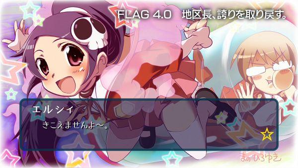 Tags: Anime, Mano Hiroyuki, Kami nomi zo Shiru Sekai, Elsea de Lute Irma, Katsuragi Keima, End Cards, Wallpaper, Kami nomi zo Shiru Sekai - End Cards, HD Wallpaper, The World God Only Knows