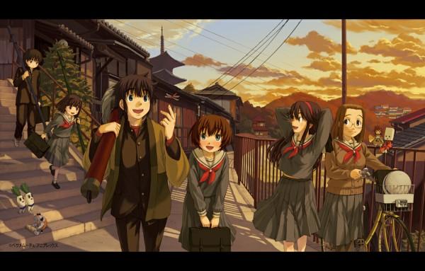 Tags: Anime, Naruko Hanaharu, Kamichu, Saegusa Miko, Shijou Mitsue, Saegusa Matsuri, Hitotsubashi Yurie, Ninomiya Kenji, Hitotsubashi Shoukichi