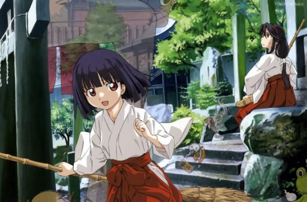 Tags: Anime, Kamichu, Saegusa Matsuri, Saegusa Miko