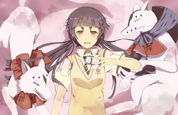 Tags: Anime, Y Xin, Ao no Exorcist, Uke (Ao no Exorcist), Mike (Ao no Exorcist), Kamiki Izumo, Pixiv, Fanart