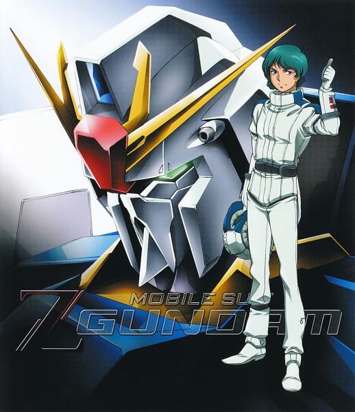 Tags: Anime, Onda Naoyuki, Sunrise (Studio), Mobile Suit Gundam, MSZ-006 Zeta Gundam, Kamille Bidan, Space Suit, Pilot Uniform, Official Art, Scan, Gundams