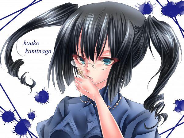 Tags: Anime, Pixiv Id 5130611, Akuma no Riddle, Kaminaga Kouko, TâChes, Fanart