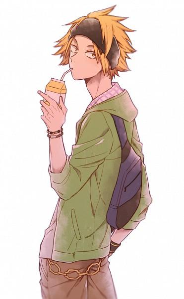 Tags: Anime, Pixiv Id 3174132, Boku no Hero Academia, Kaminari Denki, Fanart From Pixiv, Mobile Wallpaper, PNG Conversion, Pixiv, Fanart