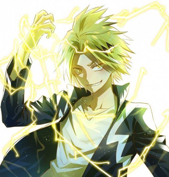 Tags: Anime, enick, Boku no Hero Academia, Kaminari Denki