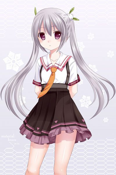 Tags: Anime, Ikeda Yuuki (Artist), Material Brave, Kamine Mashiro, Fanart