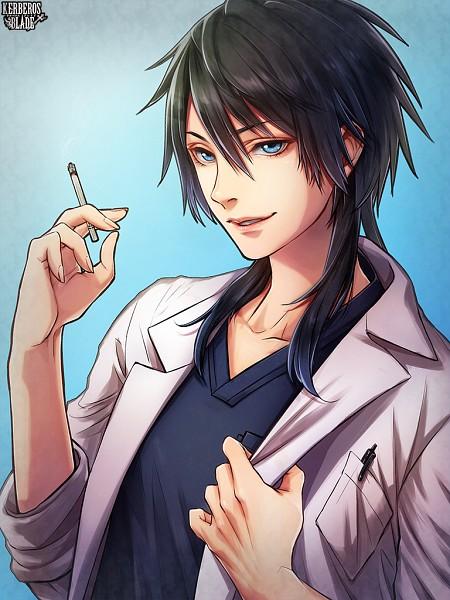Tags: Anime, Calco, Kerberos Blade, Kamino Miyabi, Mobile Wallpaper, PNG Conversion