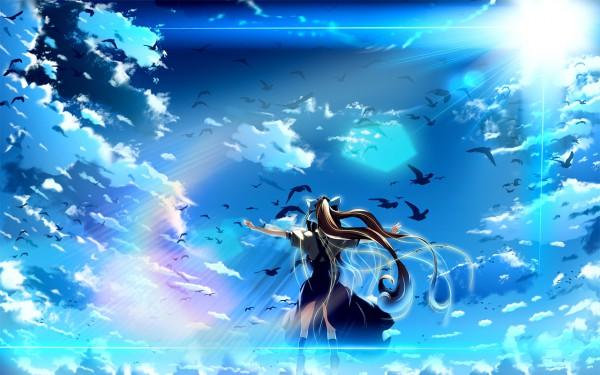 Tags: Anime, AIR, Kamio Misuzu, Wallpaper