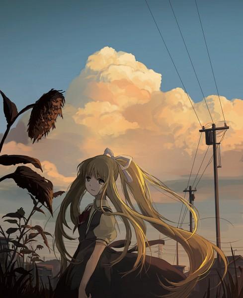 Tags: Anime, E9L, AIR, Kamio Misuzu, Pixiv