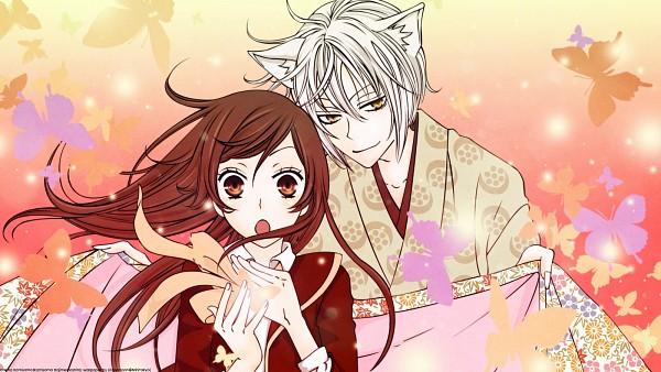 Tags: Anime, Kamisama Hajimemashita, Tomoe (Kamisama Hajimemashita), Momozono Nanami, 1600x900 Wallpaper, Wallpaper, Facebook Cover, Kamisama Kiss