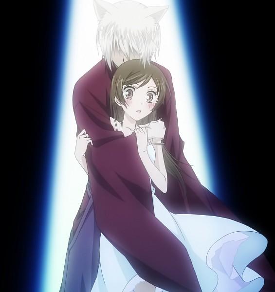 Tags: Anime, Kamisama Hajimemashita, Tomoe (Kamisama Hajimemashita), Momozono Nanami, Screenshot, Stitched Screenshot, Kamisama Kiss