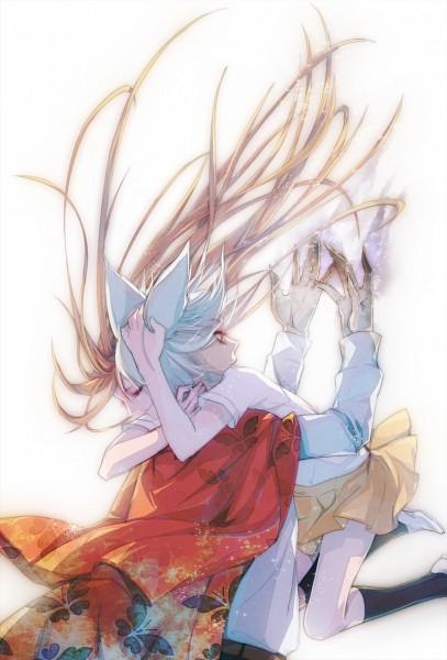 Tags: Anime, Pixiv Id 4080858, Kamisama Hajimemashita, Tomoe (Kamisama Hajimemashita), Momozono Nanami, Looking At Hands, Scene Reference, Fanart, Mobile Wallpaper, Fanart From Pixiv, Pixiv, Kamisama Kiss