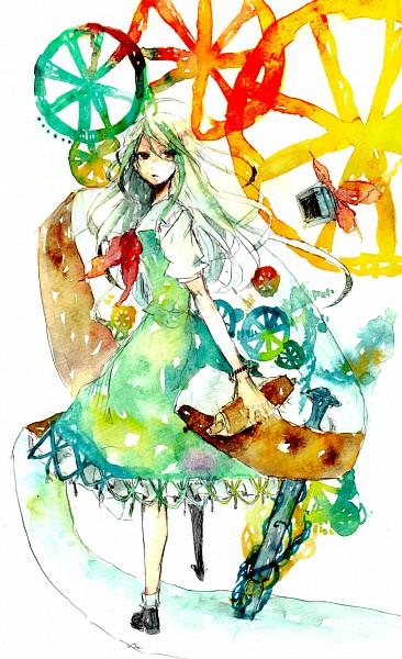 Tags: Anime, Sakuma, Touhou, Kamishirasawa Keine, Ex Keine, Watercolor, Traditional Media, Keine Kamishirasawa