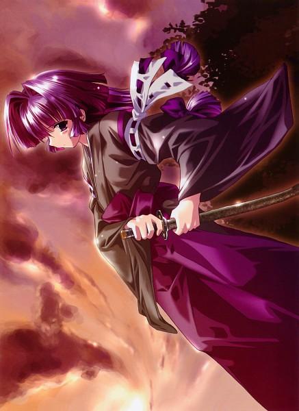 Tags: Anime, Komatsu Eji, Maburaho, Kamishiro Rin, Official Art, Scan