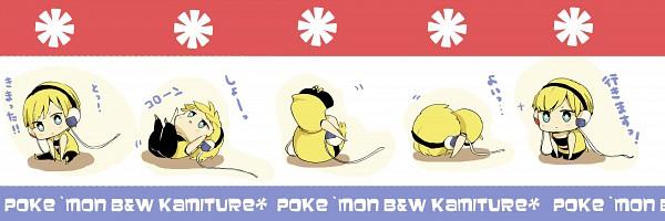 Tags: Anime, Youichi (Bread1104), Pokémon, Kamitsure, Tumbling, Twitter Header, Fanart, Pixiv