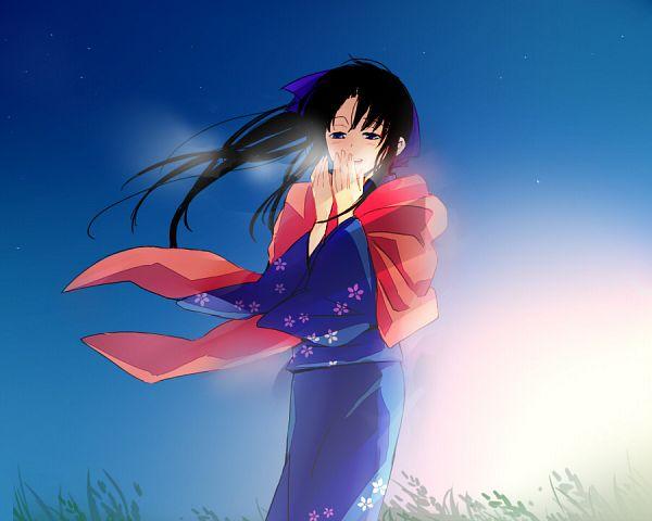 Tags: Anime, Uya, Rurouni Kenshin, Kamiya Kaoru, Shawl, Pixiv, Fanart
