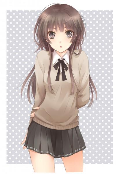 Tags: Anime, Mizunomoto, Amagami, Kamizaki Risa, Mobile Wallpaper
