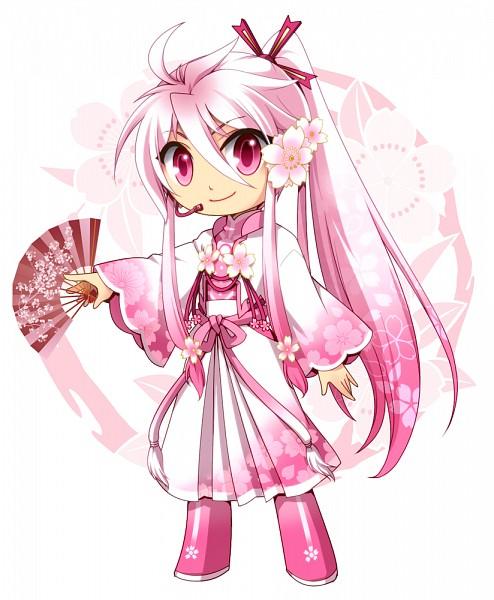 Tags: Anime, Atora (Pixiv905431), VOCALOID, Kamui Gakupo, Sakura Design