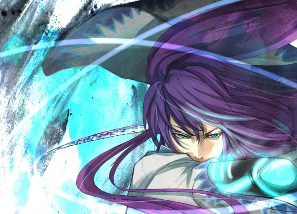 Tags: Anime, Na222222, VOCALOID, Kamui Gakupo, Fanart, Piapro Illustrated