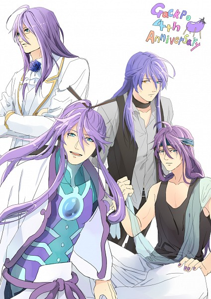 Tags: Anime, Yu-ki (Pixiv2632136), VOCALOID, Kamui Gakupo, Mobile Wallpaper