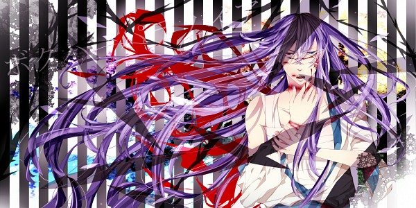 Tags: Anime, VOCALOID, Kamui Gakupo, Wallpaper, Facebook Cover, Paranoid Doll