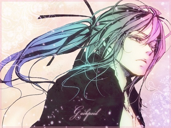 Tags: Anime, Roko0110, VOCALOID, Kamui Gakupo, Artist Request, Wallpaper