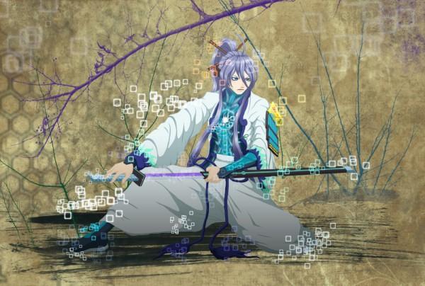 Tags: Anime, VOCALOID, Kamui Gakupo, Fanart, Artist Request