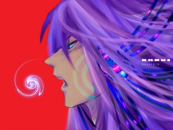 Tags: Anime, VOCALOID, Kamui Gakupo, Wallpaper, Fanart, Artist Request