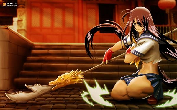 Tags: Anime, Ikkitousen, Kan'u Unchou, deviantART, Wallpaper